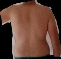 Becken mann breites breites becken